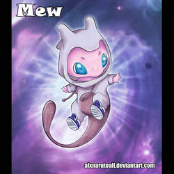 Mew  -Pokemon Go- by alxnarutoall