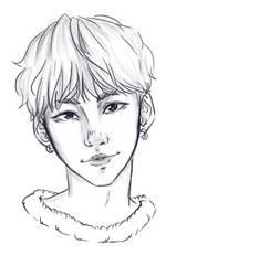 Yoongi sketch