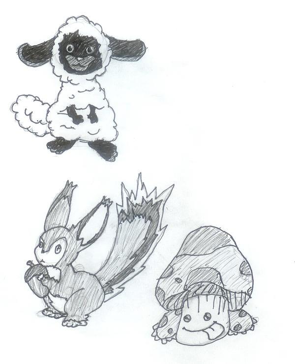Rune Factory's Cuter Monsters by Neji-san021
