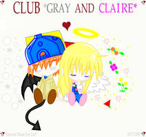CLUB Gray And Claire by AngelCou