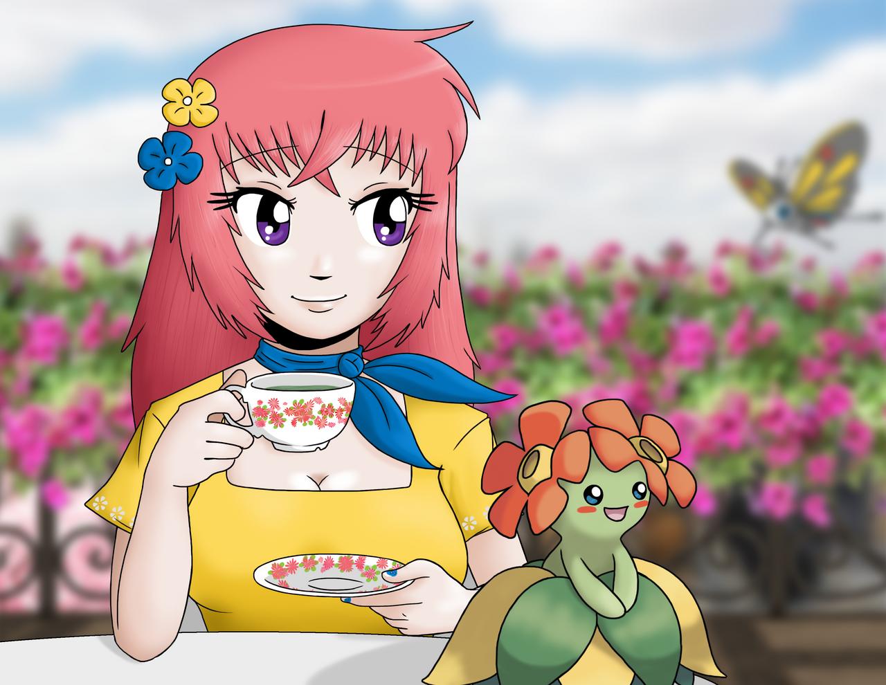 Pokemon Raising Star - Keyla by AngelCou