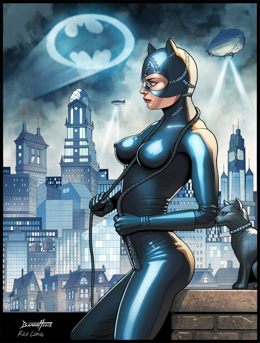 Catwoman - Commission by RexLokus