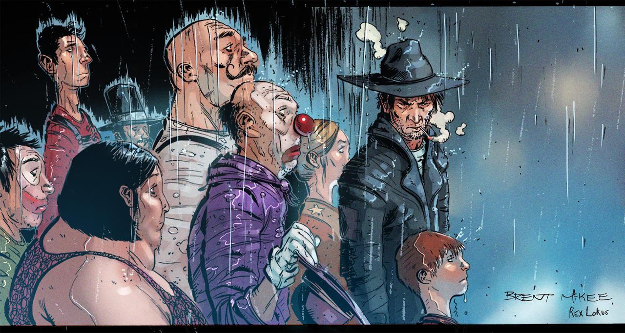 Rainy Circus by RexLokus