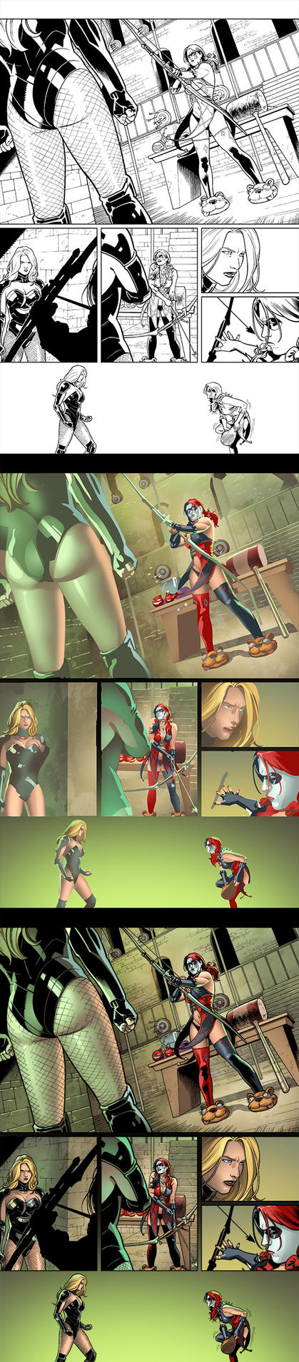 Injustice: Gods Among Us Y2 Ch13 p2 Process by RexLokus