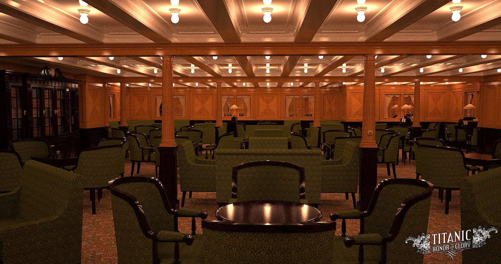 titanics forward second class - photo #33