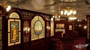 Titanic's First Class Smoke Room