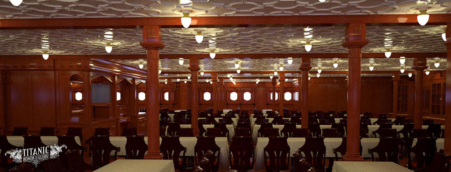 Titanicu0027s Second Class Dining Saloon By TitanicHonorAndGlory ... Part 18