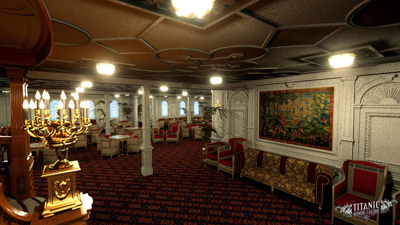 Exceptional ... TitanicHonorAndGlory Titanicu0027s First Class Reception Room   2 By  TitanicHonorAndGlory Part 29