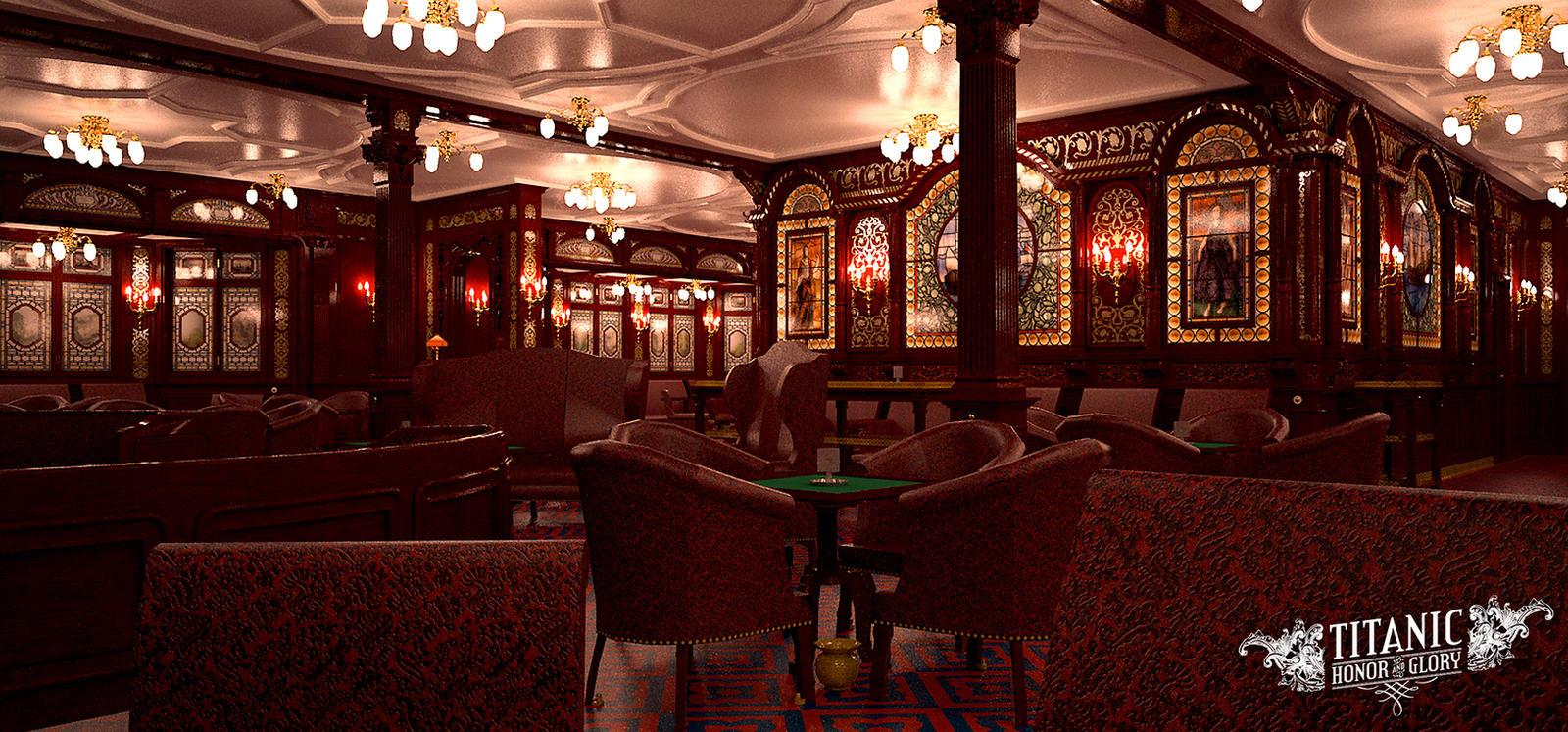 Titanic 39 S First Class Smoke Room 3 By