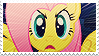 Fluttershy Angry Stamp