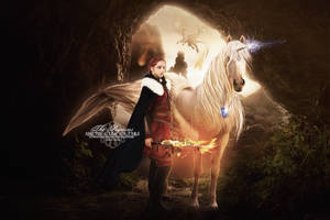 The Pegasus and the gilr of Fire