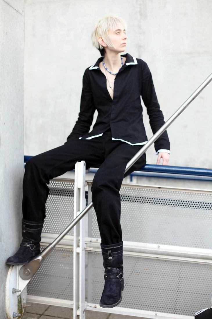Hatsuharu Sohma - The White by ruuwolf