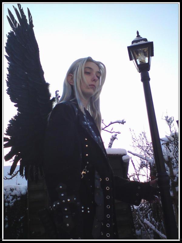 Sephiroth - One Winged Sorrow by ruuwolf