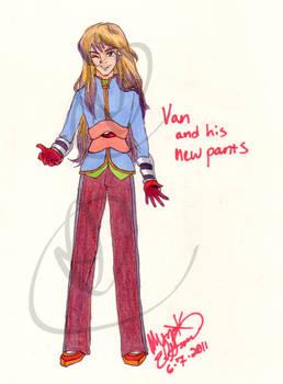 Van's New Pants