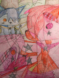 For Waterl ( the star fairy foxes ,cats guards)