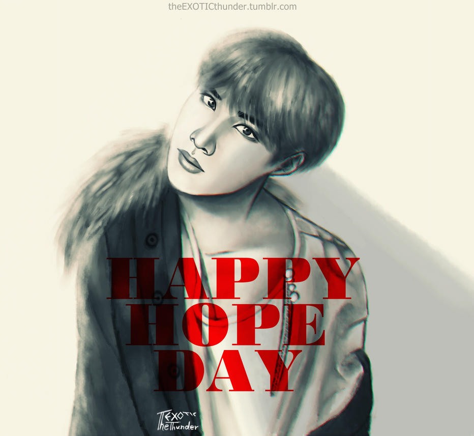 HAPPY HOPE DAY by theEXOTICthunder