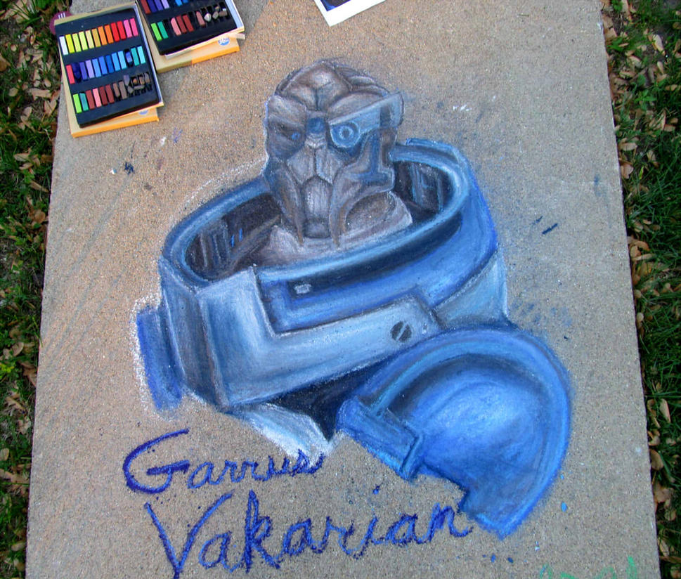 Garrus Vakarian  by Creativegreenbeans