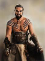 Khal Drogo by Moolver-sin