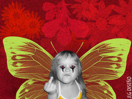 Angry girl by jlgartstudio
