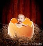 Classic eggshell baby by jlgartstudio