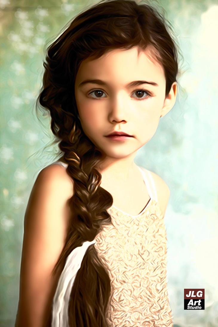 Innocence Beauty by jlgartstudio