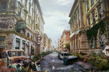 .: Desolation City Matte Painting:.