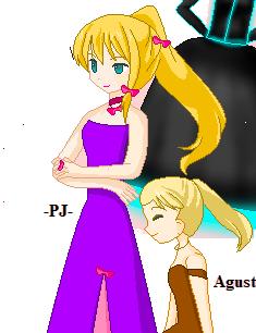PJ princess girl by Daring-danger-do
