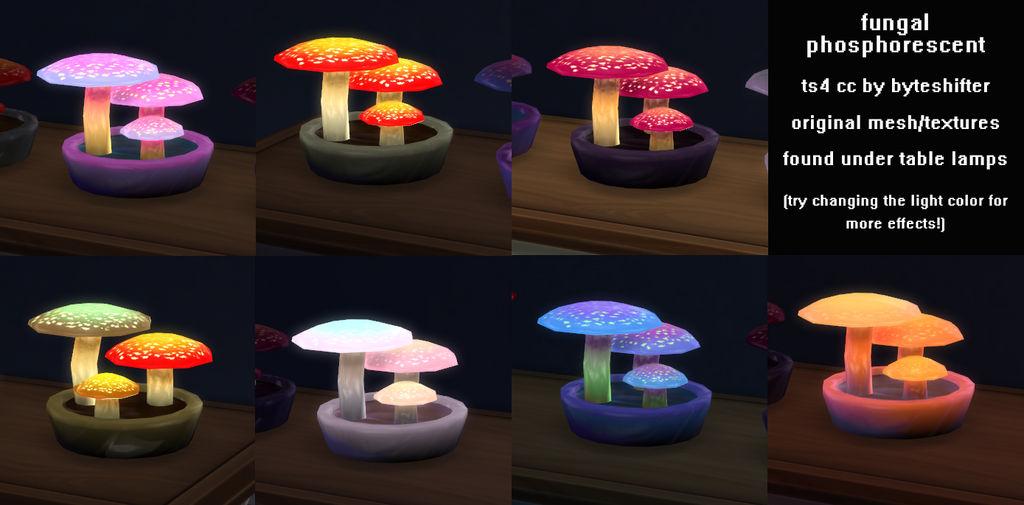 ts4cc : fungal phosphorescent by byteshifter