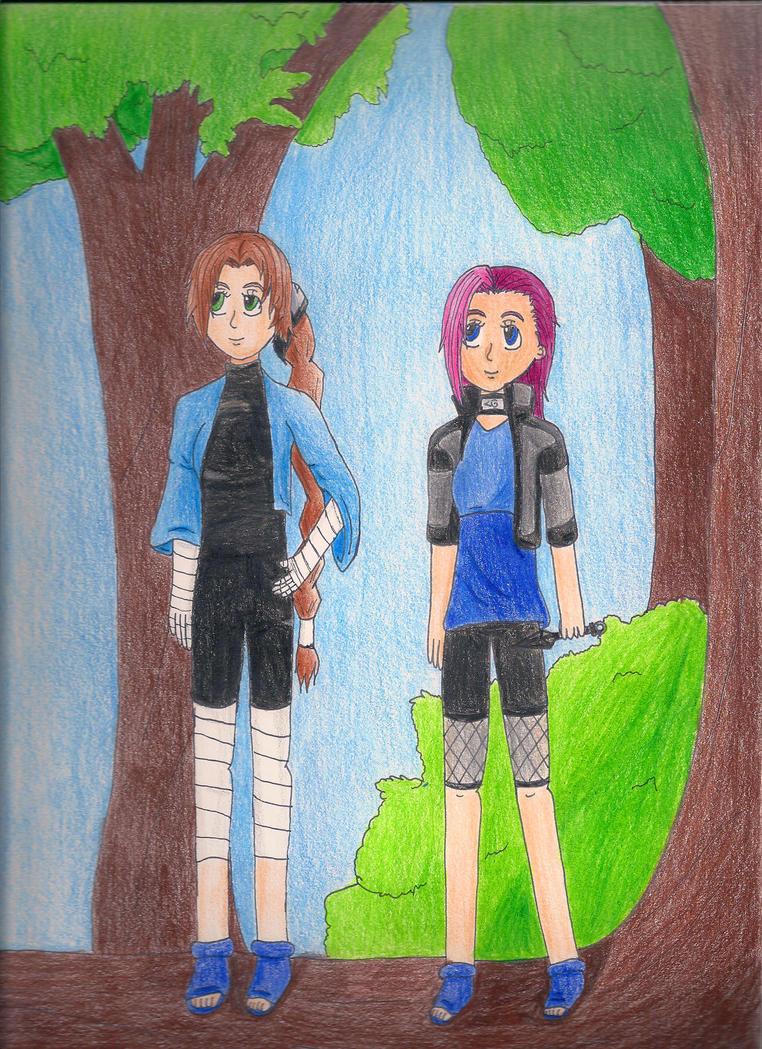 Ninja Sisters by florapastel