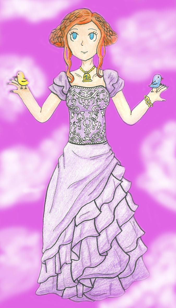 Princess Luna by florapastel