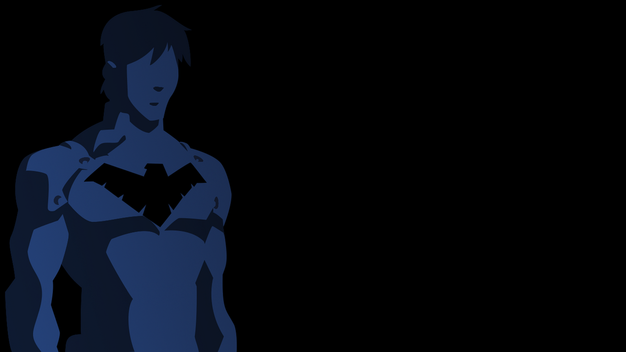 Nightwing Wallpaper 2 - Black and Blue by Kabloogey on ...