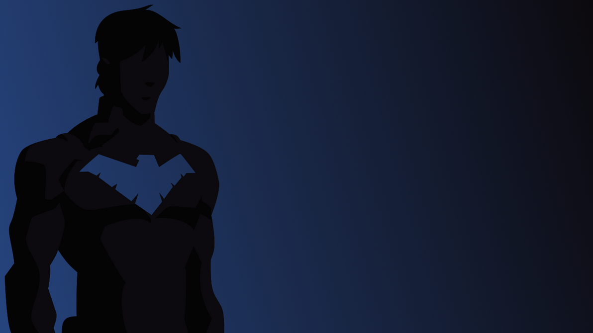 Nightwing Wallpaper 2 - Blue and Black by Kabloogey on ...