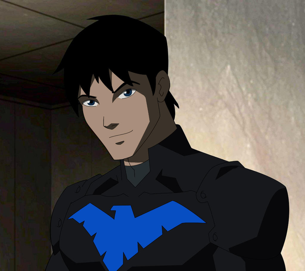 Nightwing unmasked business as usual by kabloogey on deviantart - Pictures of nightwing from young justice ...