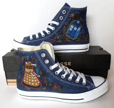 Doctor Who Converse