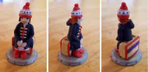 Amelia Pond - chess piece