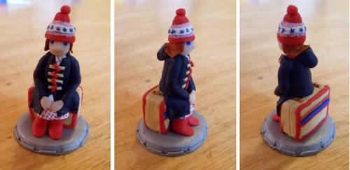 Amelia Pond - chess piece by EldalinSkywalker