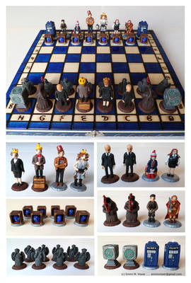 Doctor Who Chess set #2
