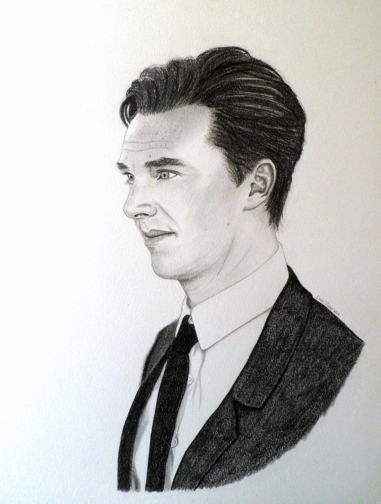 Benedict Cumberbatch #1 by EldalinSkywalker