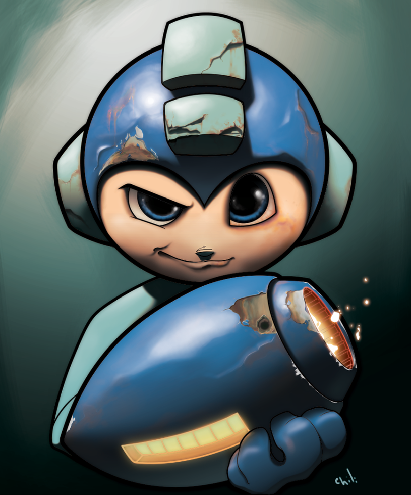 Megaman by JorgeMV