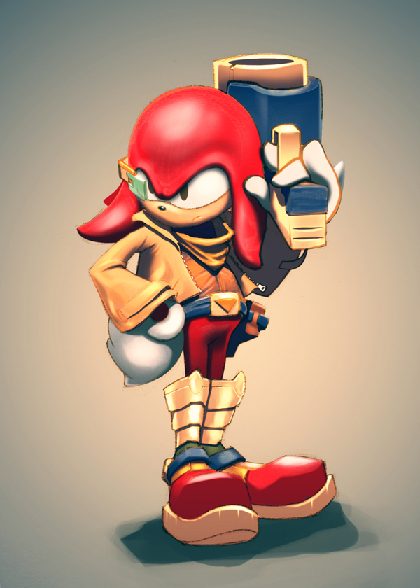 Knuckles? Falco by JorgeMV