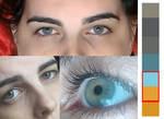 Eye Colour Swatch