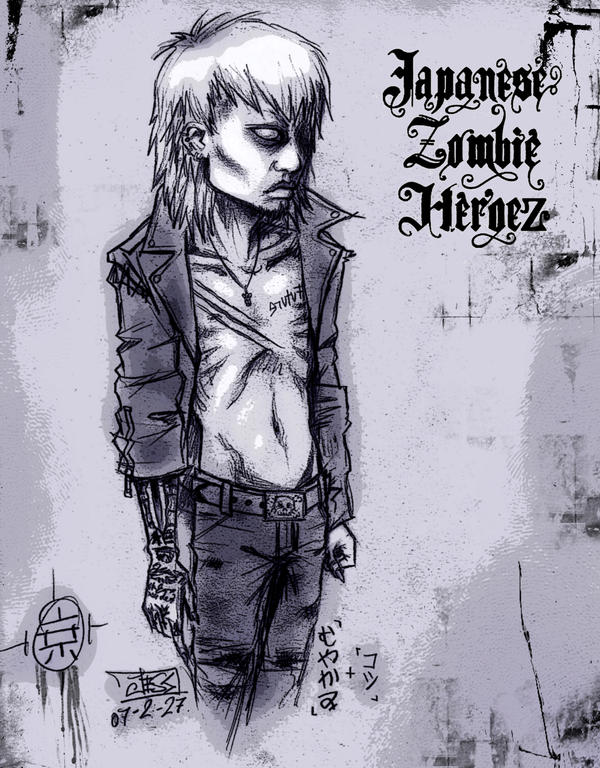 KYO - zombie - jzh v2 by Muyakami