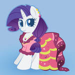 Rarity in Gala Dress