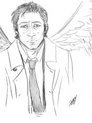 Castiel by TheBeautifulSniper