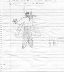 Charlie the ninja archknight by AdventDraconis