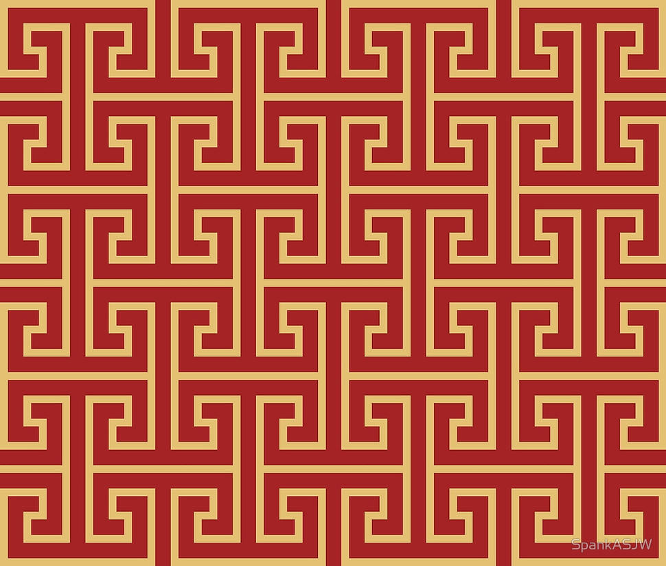 Chinese Pattern By Spankasjw
