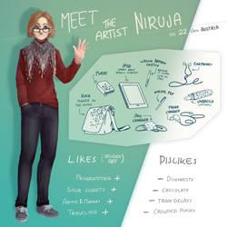 Meet the Artist by Niruja