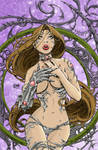 Witchblade pinup -david-nakaya
