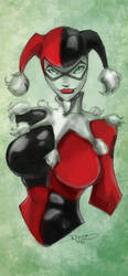 Harley Quinn by Darkratbat