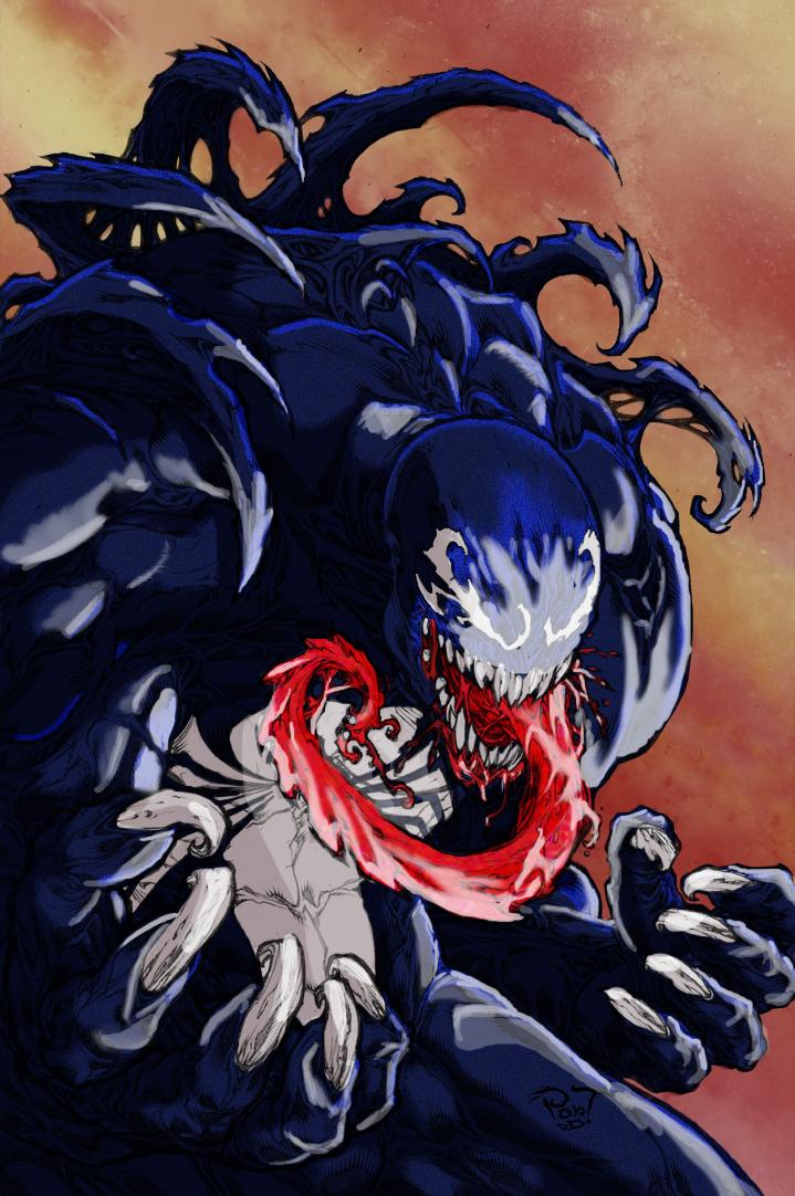 Venom Coloured by Darkratbat
